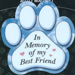 In Memory of my Best Friend Magnet