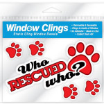 window clings who rescued who